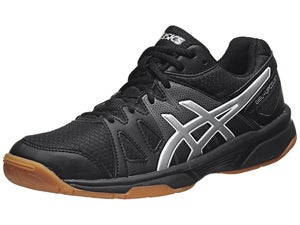 Asics Gel Upcourt Womens Shoes Black/Silver