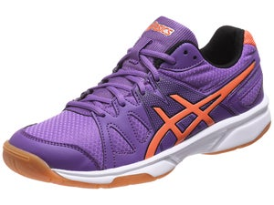 ASICS Gel Upcourt Womens Racquetball Shoes Violet/Or