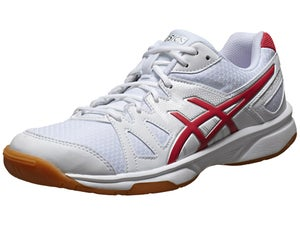 ASICS Gel Upcourt Womens Racquetball Shoes Wh/Rasp