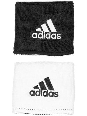 adidas Interval Small Reversible Wristband White/Black