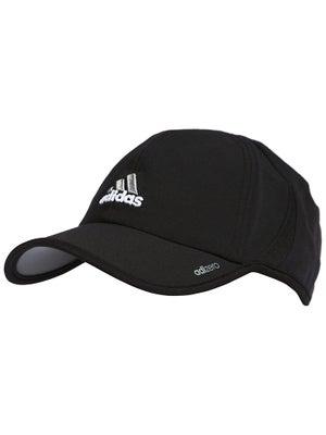 adidas Mens adizero II Hat Black/Aluminum