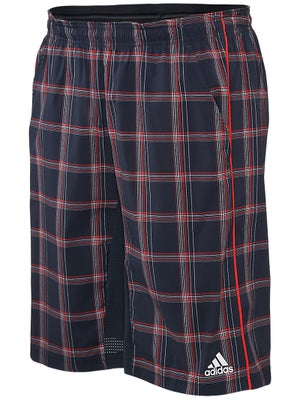 adidas Mens Fall Sequential Plaid Bermuda Short