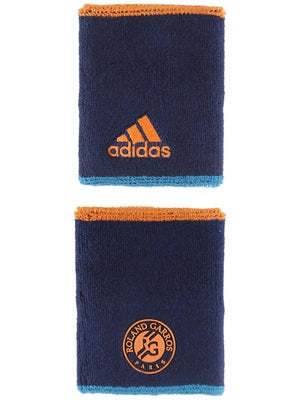 adidas Roland Garros 14 Large Wristband Night Blue