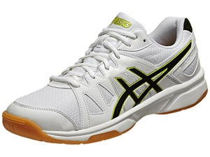 ASICS Gel Upcourt Mens Racquetball Shoes Wh/Black/Sil