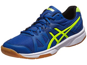 ASICS Gel Upcourt Mens Racquetball Shoes Bl/Yellow/Bk