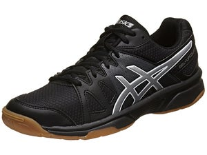 ASICS Gel Upcourt Mens Racquetball Shoes Black/Silver