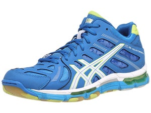 Asics Gel-Volleycross Revolution Mid Shoe Blue/Lime