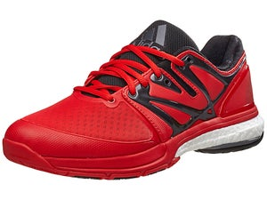adidas Stabil Boost Vivid Red/Black/Metal Mens Shoes