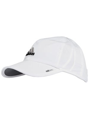 adidas Womens adizero II Hat White/Black