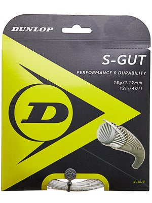 Dunlop Synthetic S-Gut 18 String White