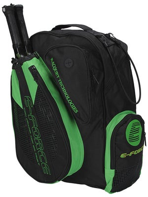 E-Force Racquetball Backpack Black/Green