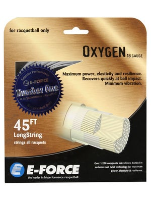 E-Force Oxygen 18 Racquetball String