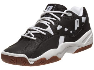 Prince Mens NFS II Indoor Black/White Shoes