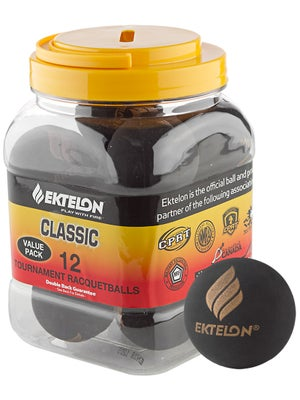 Ektelon Classic 12-Ball Can