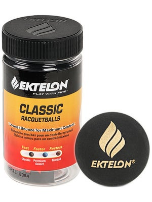 Ektelon Classic Racquetballs 2 Ball Can