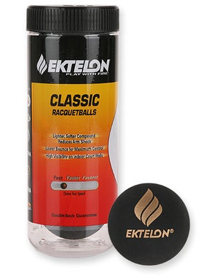 Ektelon Classic Racquetballs 3 Ball Can