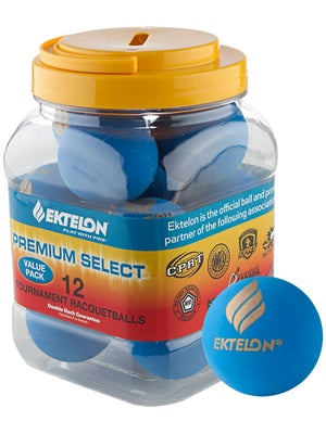 Ektelon Premium Select 12-Ball Can
