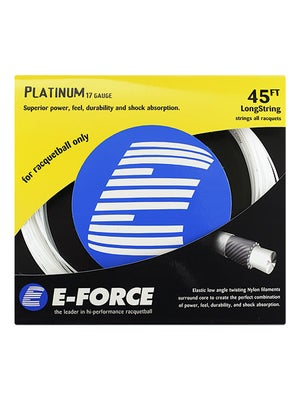 E-Force Platinum 17 Racquetball String