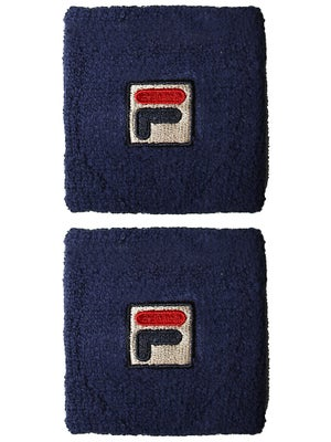 Fila F-Box Singlewide Wristbands Navy