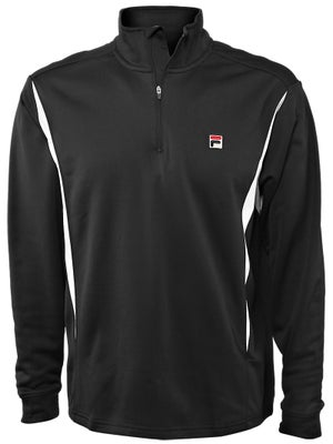 Fila Mens Challenger 1/2 Zip Long Sleeve Top