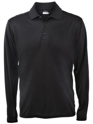 Fila Mens Serve Long Sleeve Polo