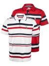 Fila Men's Heritage Stripe Polo