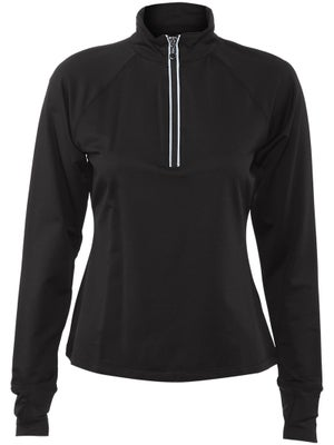 Fila Womens Essenza Long Sleeve 1/2 Zip Top