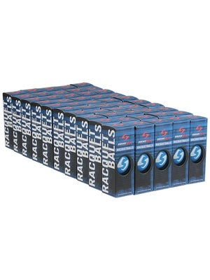 Gearbox Blue Racquetballs 24 Can Case / 72 Balls