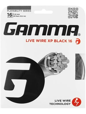 Gamma Live Wire XP 16 String Black