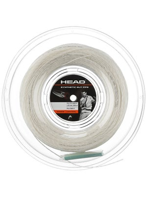 Head Synthetic Gut PPS 16 String Reel White