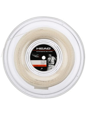 Head Synthetic Gut PPS 17 String Reel White