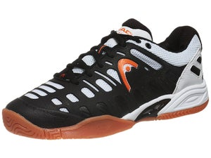 Head Speed Pro II Lite Blk/Wh/Orange Mens Shoes