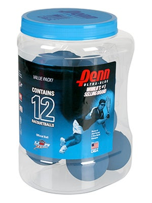 Penn Huge Can Ultra Blue Racquetballs