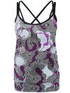 Jerdog Women's Electric Bloom Overlay Tank