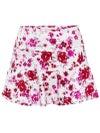 Jerdog Women's Mixed Berries Swing Skirt