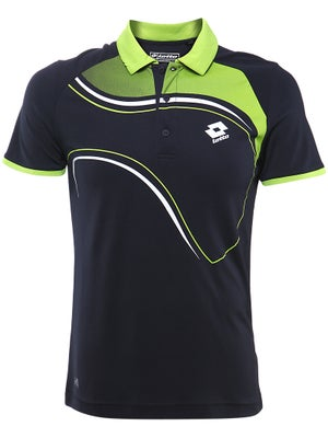 Lotto Mens Fall Graphic LED Polo