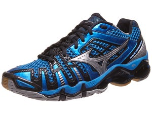 Mizuno Wave Tornado 8 Mens Shoes Blue/Silver