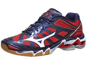 Mizuno 2014 Lightning RX3 Mens Shoes Navy/Red