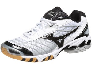 Mizuno Lightning RX Mens Shoes White/Black Size 7.5