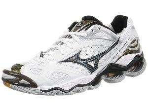 Mizuno Tornado 6 Mens Shoes White/Black Size 7.5