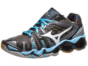 Mizuno Wave Tornado 8 Womens Shoes Silver/Aquarius