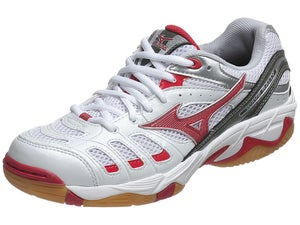 Mizuno Wave Rally 2 Womens Shoes White/Red