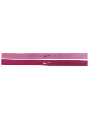 Nike Adjustable Hairband 2-Pack Pink/Magenta