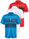 New Balance Men's Fall Tournament Striped Polo