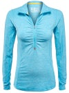 New Balance Women's Summer Transit 1/2 Zip Top
