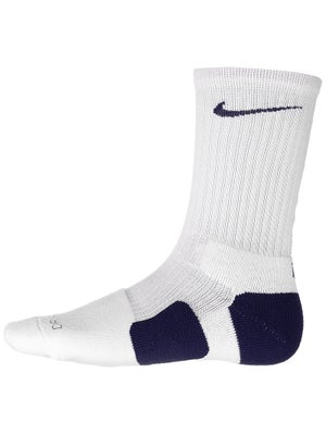 Nike Dri-Fit Elite Crew Sock White/Navy