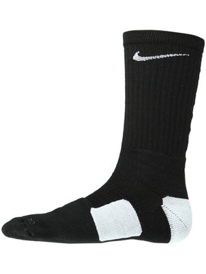 Nike Dri-Fit Elite Crew Sock Black/White