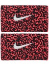 Nike Fall Ace Doublewide Wristband Black/Punch