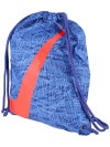 Nike Graphic Gymsack Bag Blue/Bright Crimson