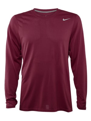 Nike Mens Team Long-Sleeve Legend Top